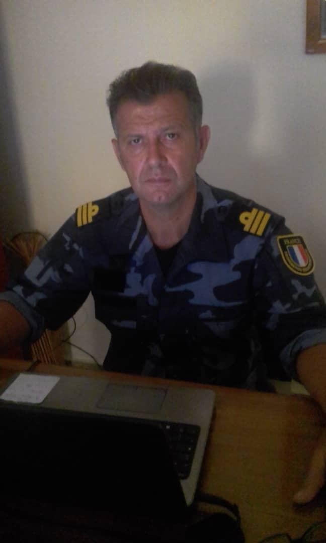 Capitaine de frégate Bruno Delannoy